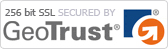 Site Secured by GeoTrust 256bit SSL encryption